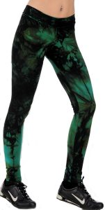 magarita-batik-tie-dye-hot-pant-leggings-green
