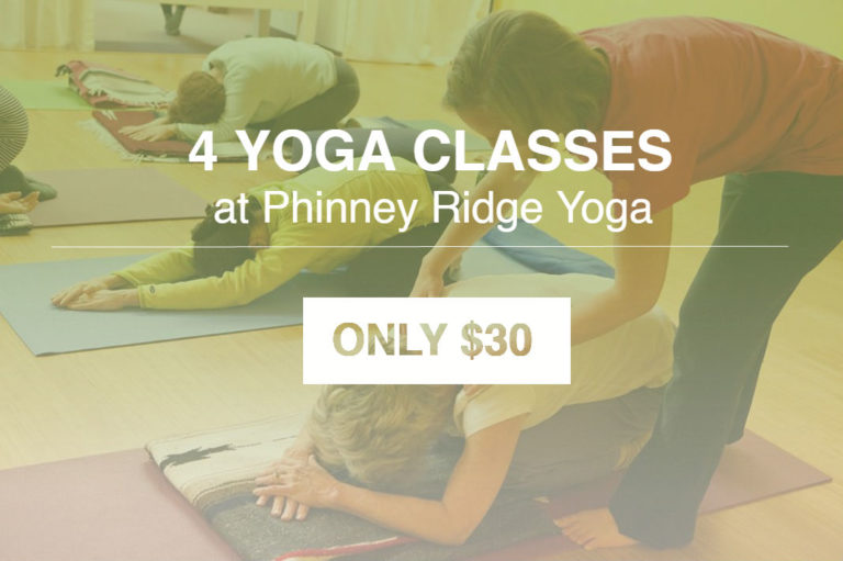 Phinney Ridge Yoga- 4 Yoga classes