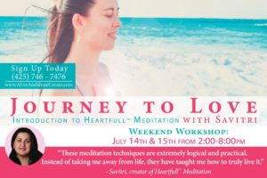 Journey to Love – Introduction to Heartfull Meditation with Savitri
