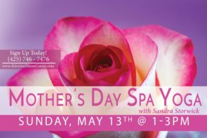 Mothers Day Spa Yoga with Sandra
