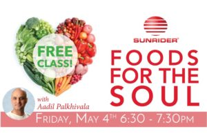 Sunrider - Foods for the Soul with Aadil Palkhivala