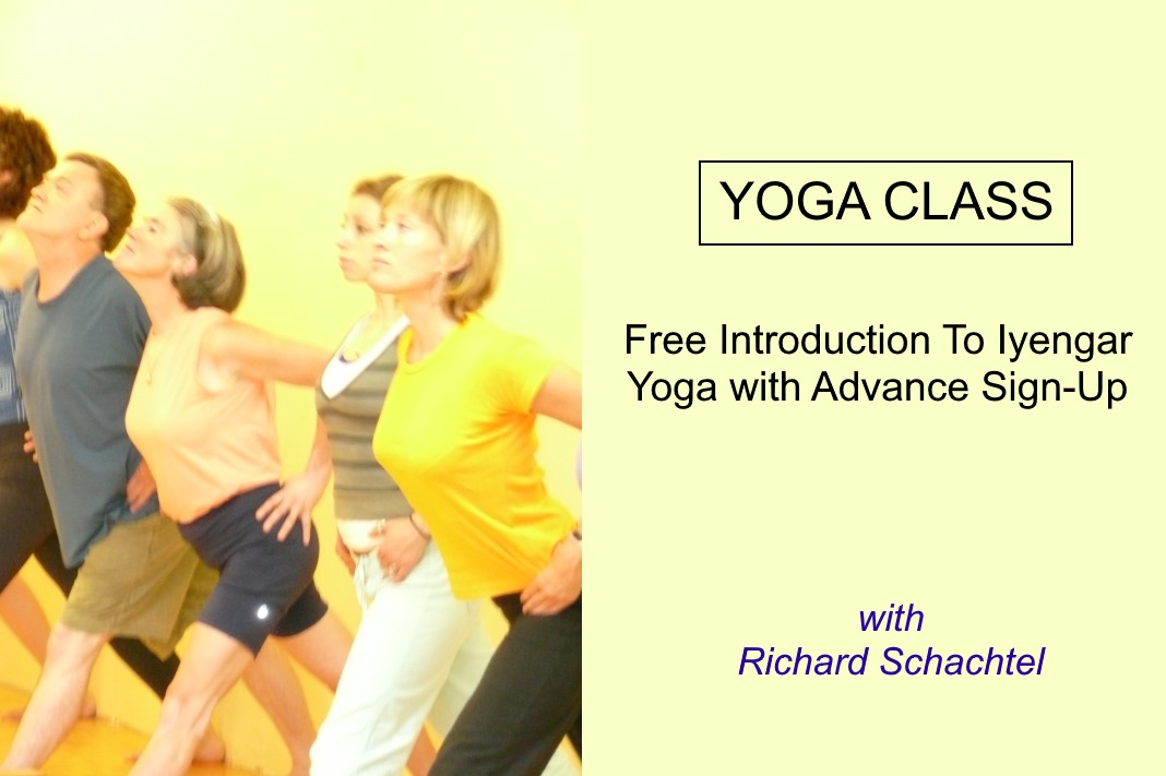 FREE Introduction To Iyengar Yoga with Advance Sign-Up
