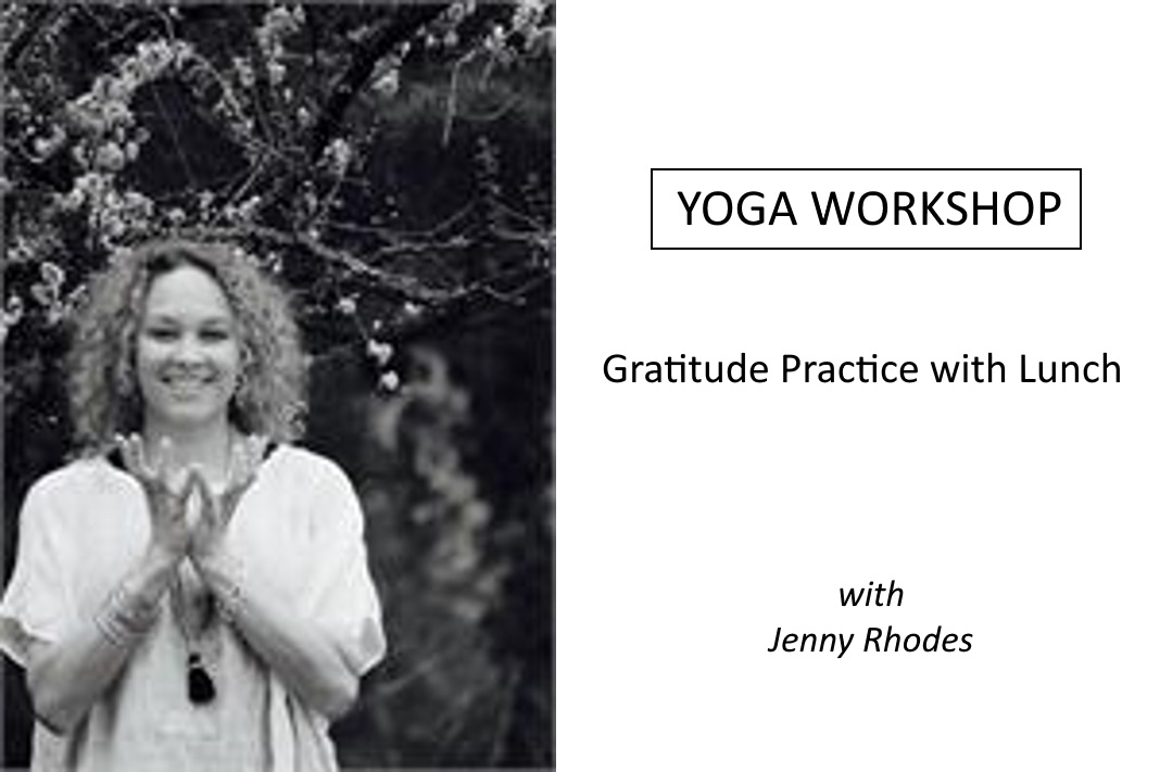 Gratitude Practice with Lunch with Jenny Rhodes