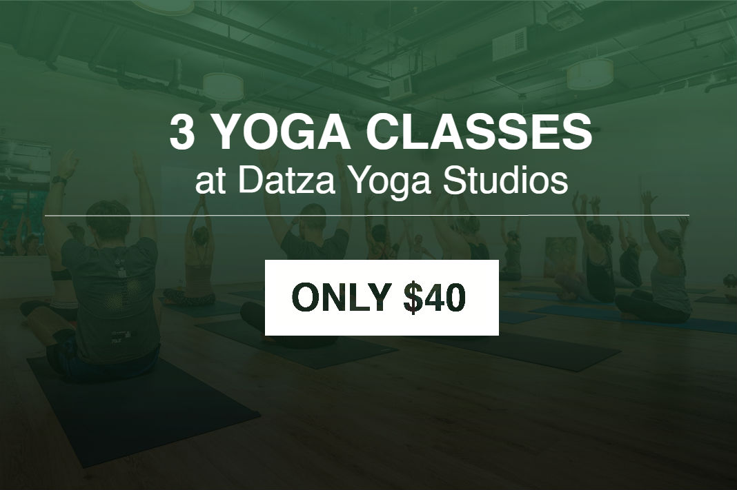 3 Yoga Classes at Datza Yoga Studios