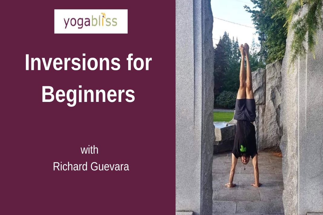 Inversions for Beginners with Richard Guevara Yogabliss