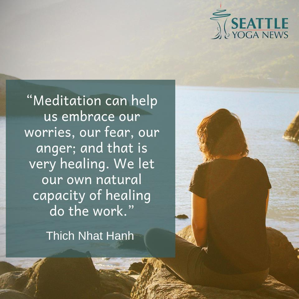 Meditation for embracing worries quote