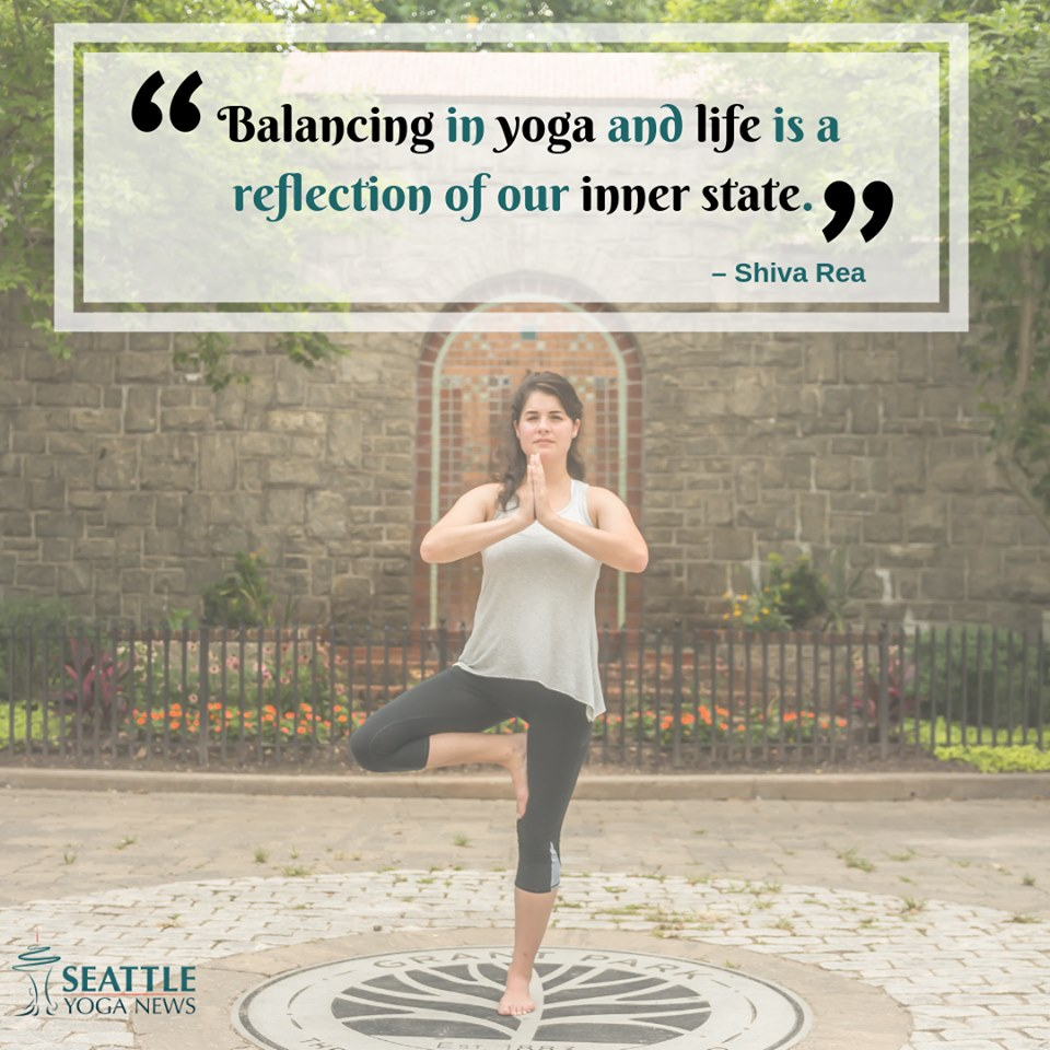 balancing in yoga quote