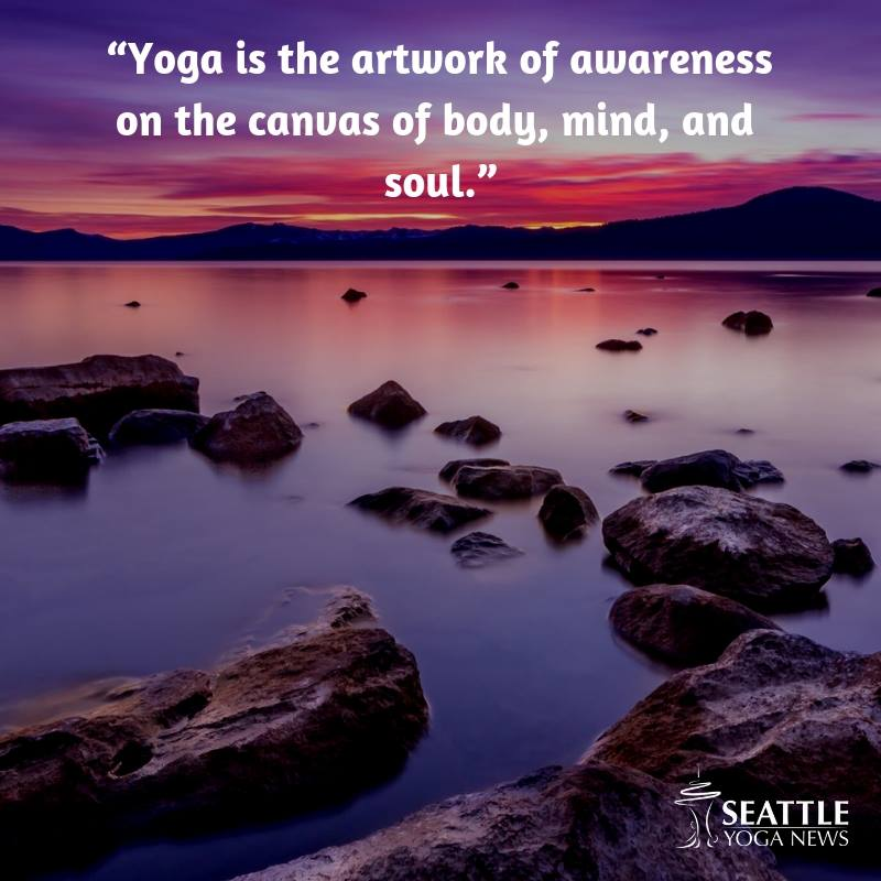 yoga artwork quote
