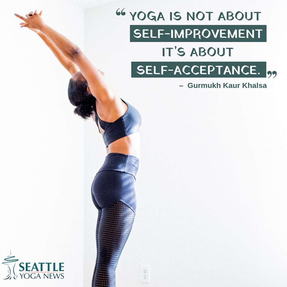 yoga is about self-acceptance quote