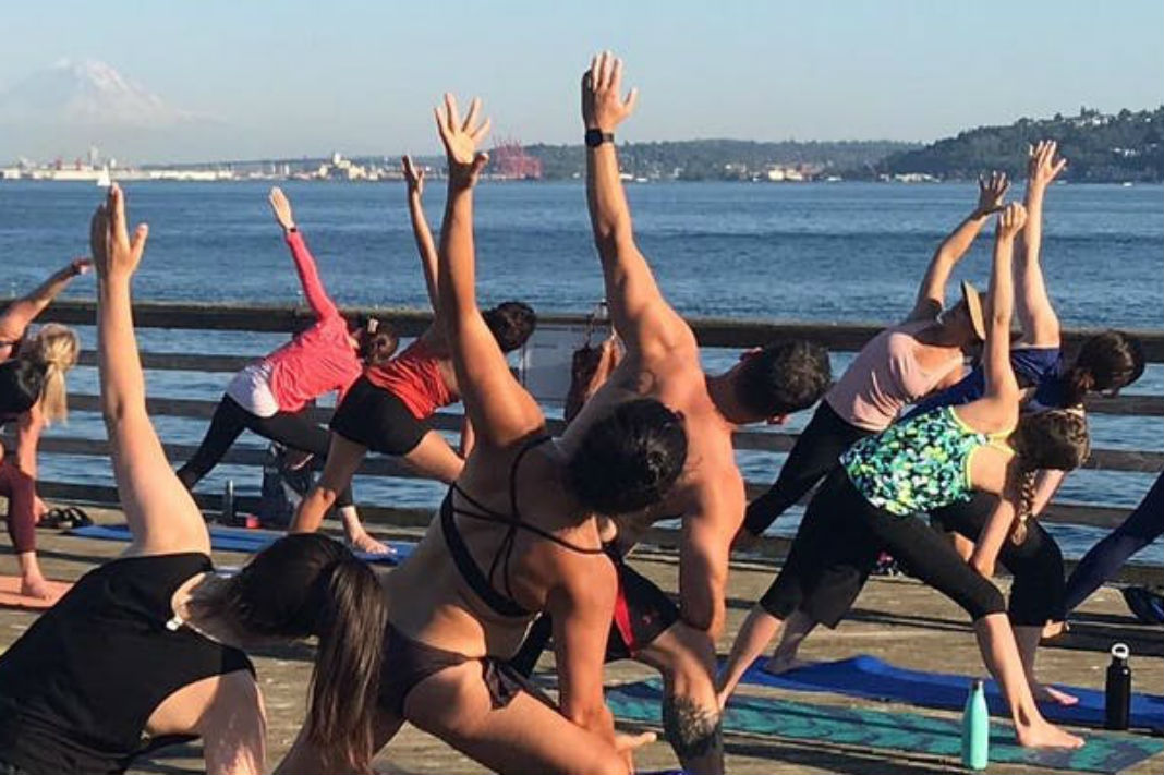 The 4th Annual Yoga On The Dock Series with Elizabeth Krenke