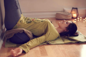 Practicing Stillness An Afternoon of Restorative Yoga with Kathleen Sheets - indigo moon yoga