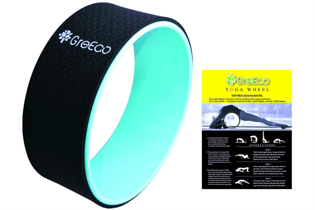 GreEco Yoga Wheel Pilates Roller