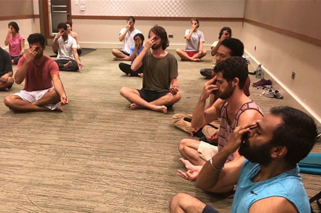 Yoga for the Soul at Husky Union Building - Bhakti Yoga Club at UW