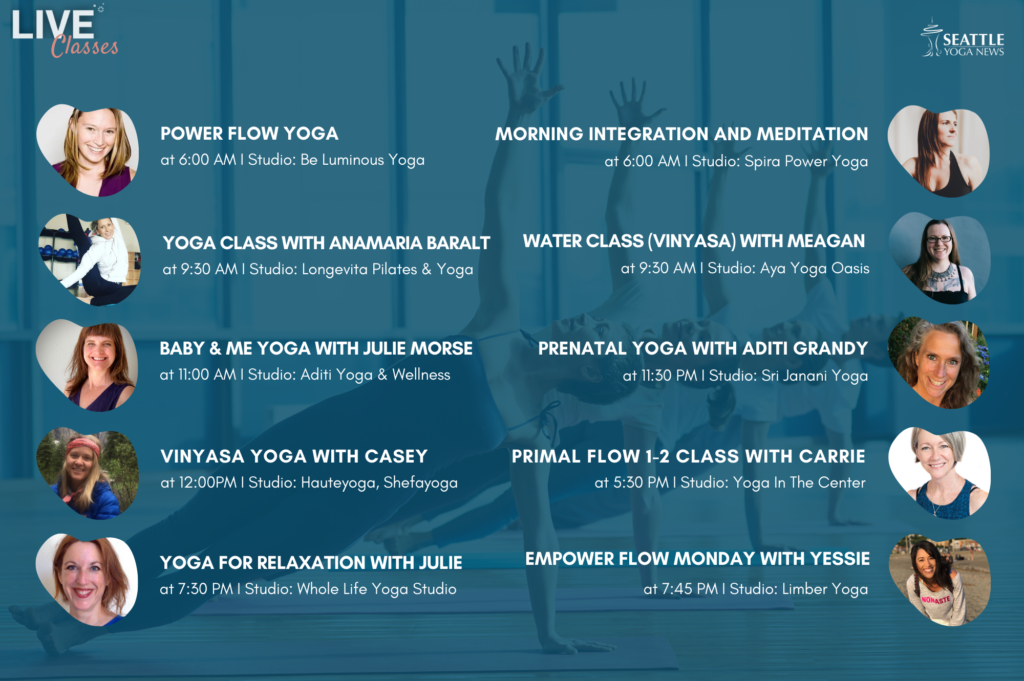 Seattle-Area-Virtual-Yoga-Classes-Monday-Apr-13th-schedule