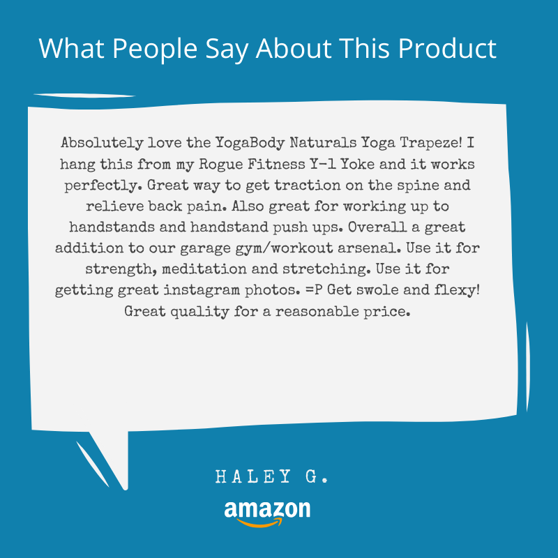 Reviews - YogaBody Yoga Trapeze/Swing/Sling/Inversion Tool with Free DVD