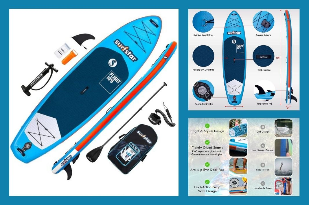 Surfstar Inflatable Paddle Board